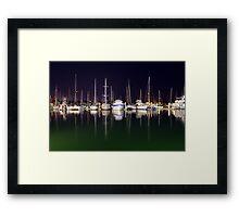 Cullen Bay Boats Framed Print