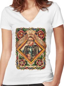 Old Timers - Stoney St. Clair Women's Fitted V-Neck T-Shirt