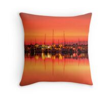Cullen Bay Sunset Throw Pillow