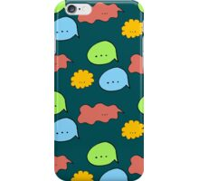 speech bubbles made in different colors iPhone Case/Skin