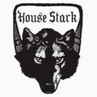 House Stark Wolf by Zehda