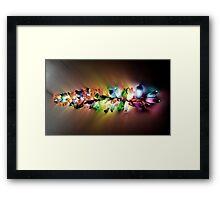 Recycled Light Framed Print