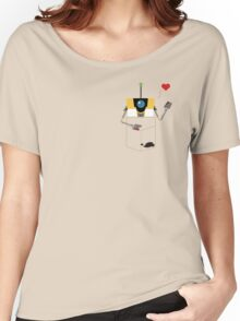 Claptrap in Your Pocket! Women's Relaxed Fit T-Shirt