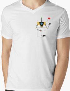 Claptrap in Your Pocket! Mens V-Neck T-Shirt