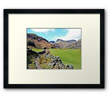Path to the Pikes Framed Print