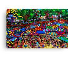 Fun Beach Canvas Print