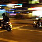 The Mopeds ( Blurred Series) by Sherion