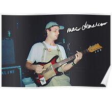 Mac + Guitar  Poster