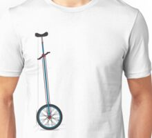 Very Tall Unicycle Unisex T-Shirt