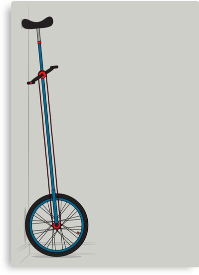 Very Tall Unicycle by Andy Scullion