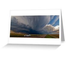 Boise City Oklahoma Going Tornadic... Greeting Card