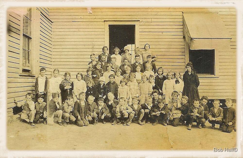 THROWBACK: A 1917 One Room Schoolhouse by © Bob Hall