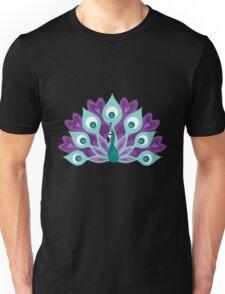 pretty peacock Unisex T-Shirt