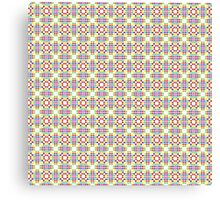 Geometric colorful pattern Canvas Print