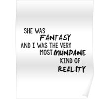 She Was Fantasy Poster