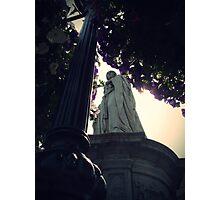 Somber Statue Photographic Print