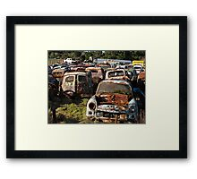 old cars collecting moss Framed Print
