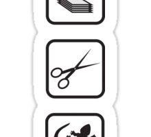 Rock-Paper-Scissors-Lizard-Spock Sticker