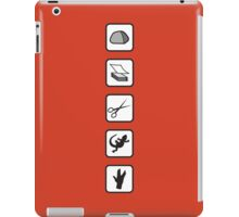 Rock-Paper-Scissors-Lizard-Spock iPad Case/Skin
