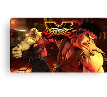 street fighter 5 ryu Canvas Print