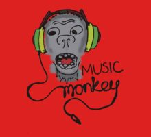 Music Monkey! by haker23