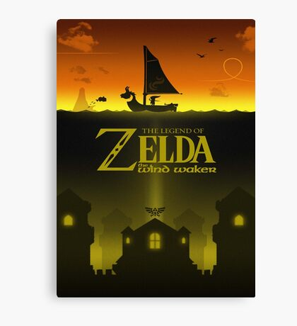 windwaker poster Canvas Print