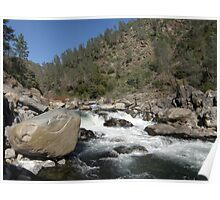North Fork Stanislaus River Poster