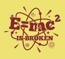 E=mc2 is broken - Light Baby Tee