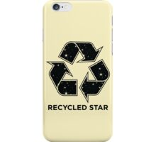 Recycled Star - Inverted iPhone Case/Skin