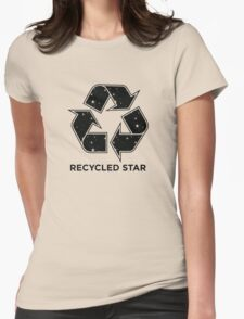 Recycled Star - Inverted Womens Fitted T-Shirt