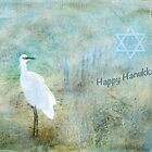 "Seascape ""Happy Hanukkah"" ~ Greeting Cards Plus More! by Susan Werby"