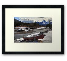 Winter in the Rockies II Framed Print