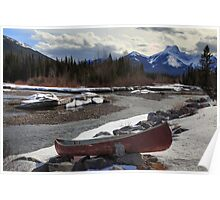 Winter in the Rockies II Poster