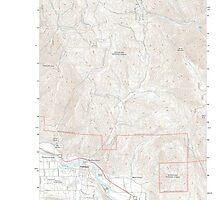 USGS Topo Map Washington State WA Cashmere 20110601 TM by wetdryvac