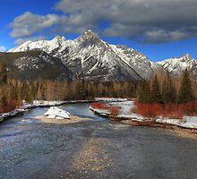 Winter in the Rockies (HDR) by zumi