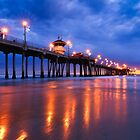 Huntington Pier by Radek Hofman
