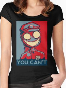 You Can't Women's Fitted Scoop T-Shirt