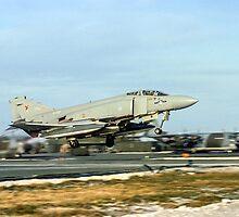 McDonnell F-4M Phantom FGR.2 XV402/A by Colin Smedley