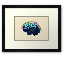 My Brain Has Too Many Tabs Open Framed Print