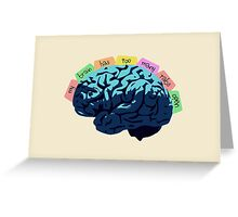 My Brain Has Too Many Tabs Open Greeting Card