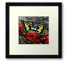 Spring Is Electric Framed Print