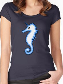 Unicorn Seahorse Women's Fitted Scoop T-Shirt
