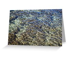 Whimsical Water Works - Crystal Clear Earthtones - Take Two Greeting Card