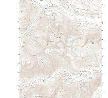 USGS Topo Map Washington State WA Mount Howard 20110601 TM by wetdryvac