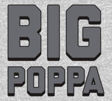 Call Me Big Poppa  One Piece - Long Sleeve
