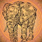 """Elephant Spirit"" version2 ,  by Leah McNeir"
