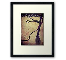 Cut Me Framed Print