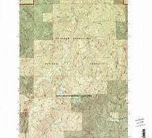 USGS Topo Map Washington State WA The Rockies 244258 1998 24000 by wetdryvac