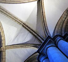 Hexham Abbey Aisle Vaulting by John Dalkin