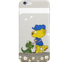 Ferald and The Baby Lizard iPhone Case/Skin